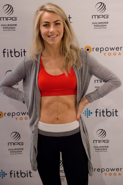 Julianne Hough with Abs