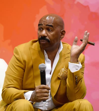 Steve Harvey Sits Down