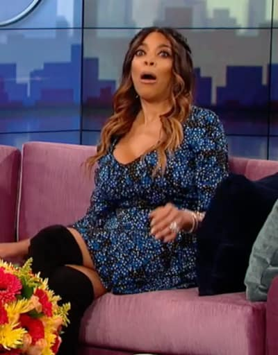 Wendy Williams Looks Stunned
