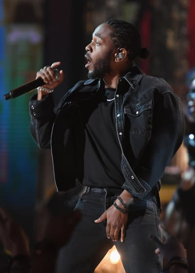 Kendrick Lamar at BET Awards