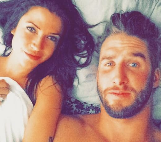 Kaitlyn Bristowe and Shawn Booth in Bed