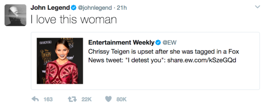 legends tweet