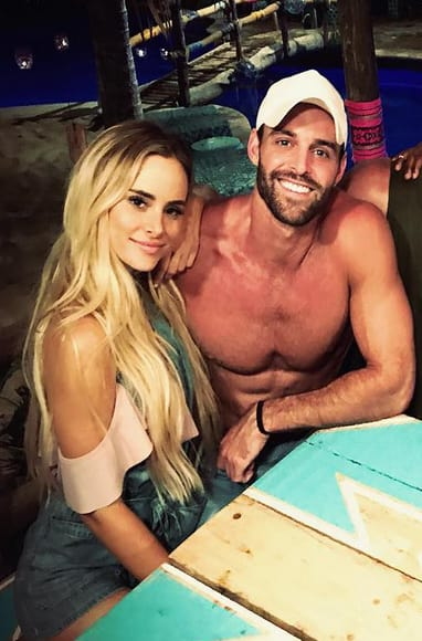 Amanda Stanton with Robby Hayes