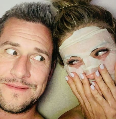 Christina El Moussa and Ant Anstead in Bed
