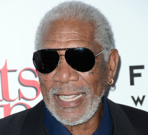 Morgan Freeman with Sunglasses