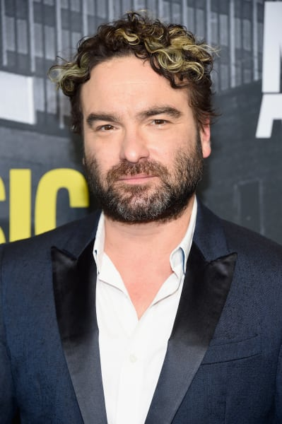 Johnny Galecki on a Red Carpet