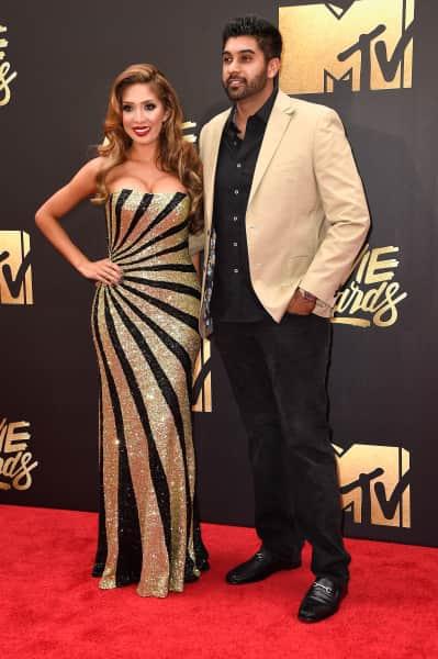 Farrah Abraham and Simon Saran: 2016 MTV Movie Awards