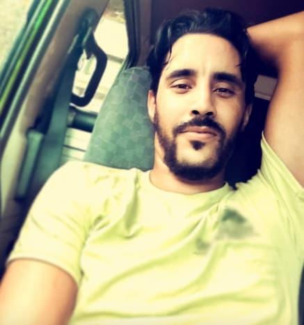 Mohamed Jbali with Facial Hair