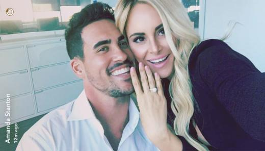 Josh Murray and Amanda Stanton Pic