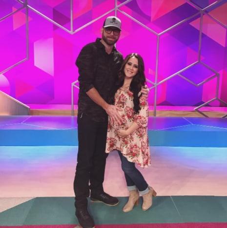 David Eason Holding Jenelle Evans' Baby Bump
