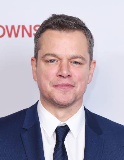 Matt Damon Head Shot