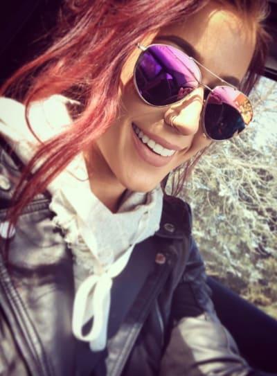 Chelsea Houska in Glasses