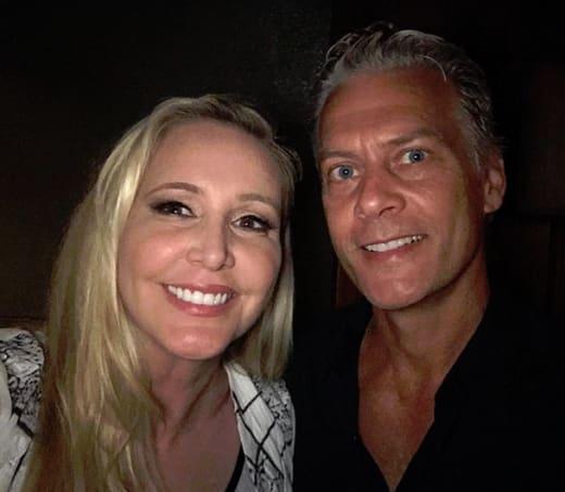 Shannon Beador and David Beador, Selfie