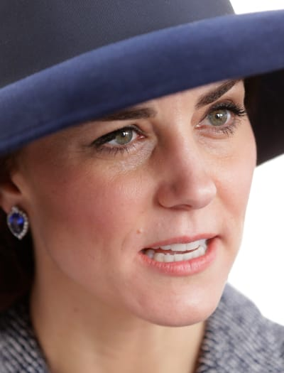 Kate Middleton, Way Up Close