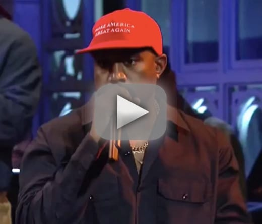 Kanye west rants in favor of trump on snl gets booed on stage