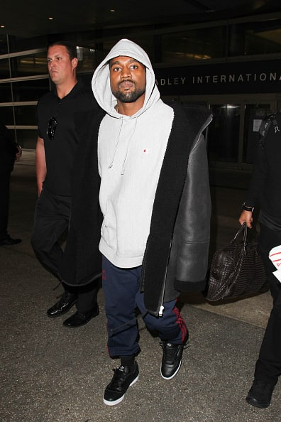 Kanye West Sighted in New York City Looking Exhausted