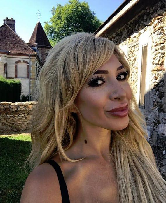 Farrah abraham castle selfie
