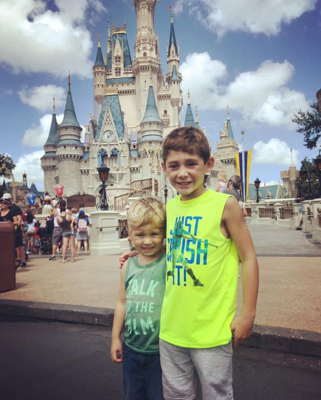 Jace and kaiser at disney