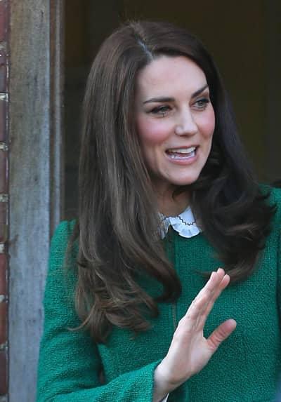 Kate Middleton Cut Thumb
