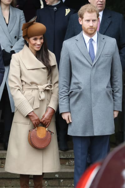 Markle and Harry Pic