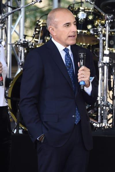 Matt Lauer on Stage