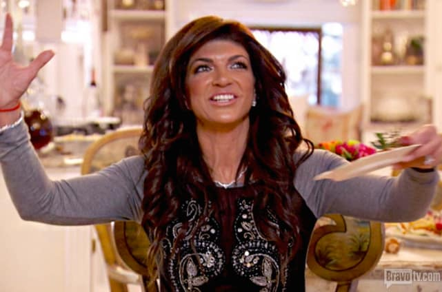 Teresa giudice on the real housewives