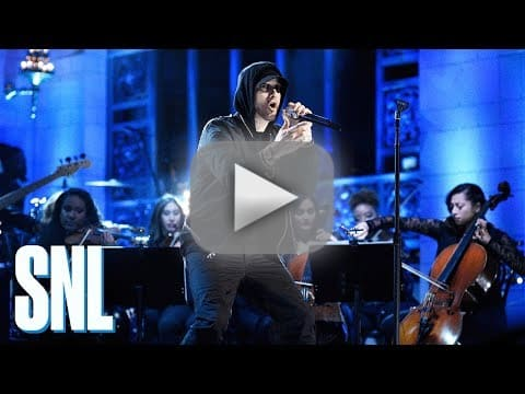 Eminem slammed for saturday night live performance