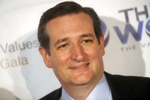 Ted Cruz Close Up