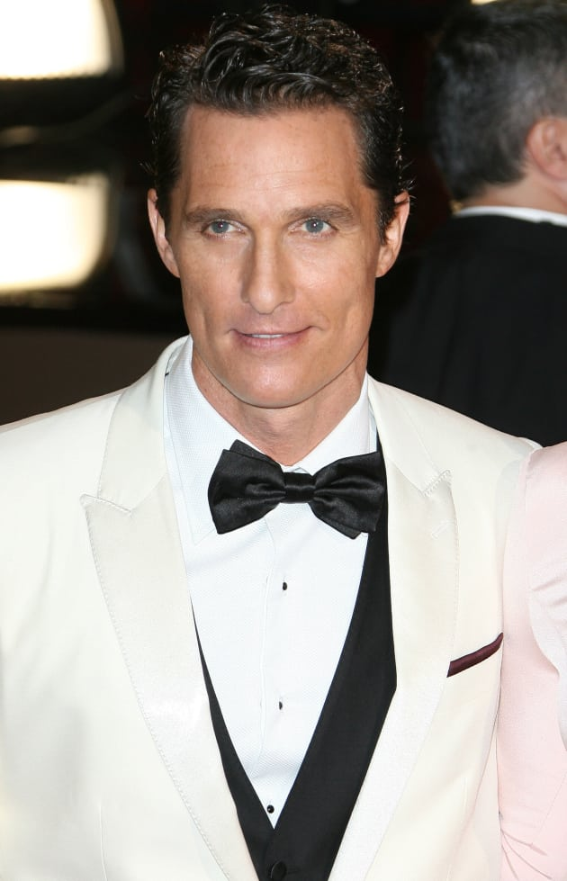 Matthew mcconaughey won the oscar for best actor