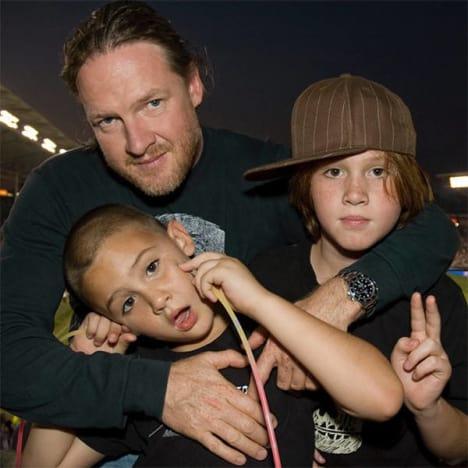 Donal Logue, Kids