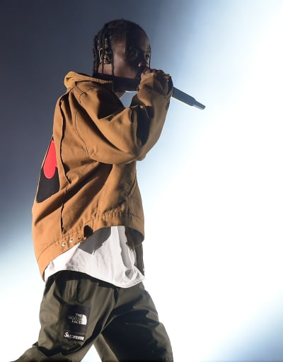 Travis Scott Does His Thing