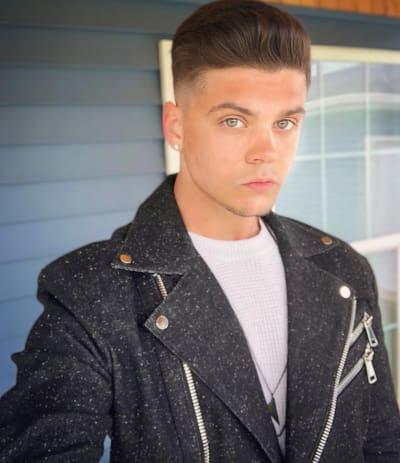 Tyler Baltierra and Fancy Jacket