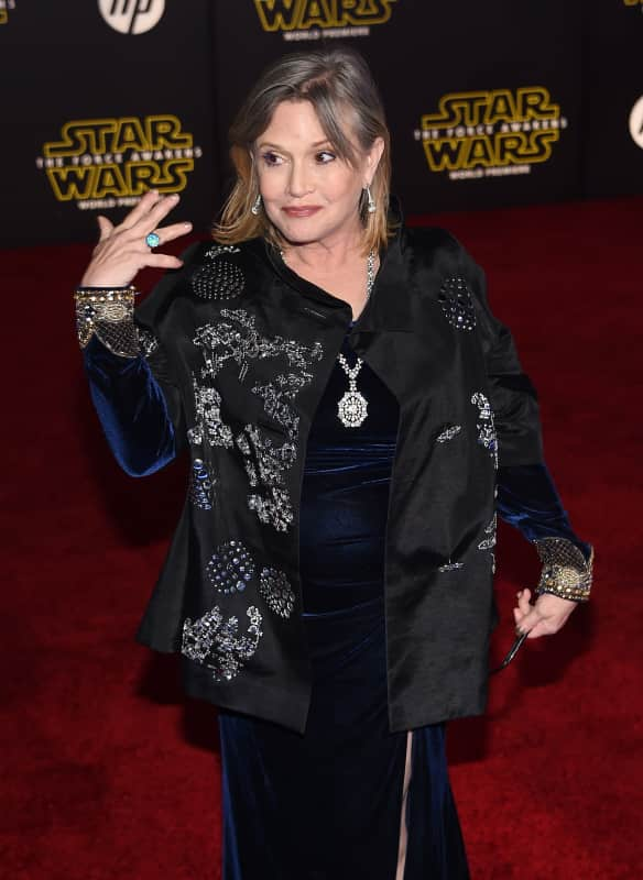 Carrie fisher rules