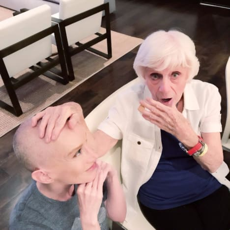 Kathy Griffin, Her Shaved Head, and Her Mom