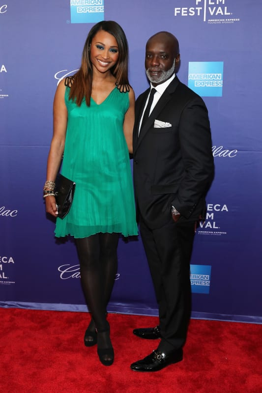 Cynthia bailey and peter thomas on the red carpet
