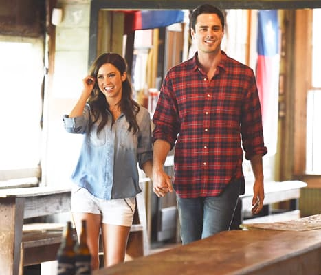 Ben Higgins with Kaitlyn Bristowe
