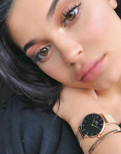 Kylie Jenner and a Watch
