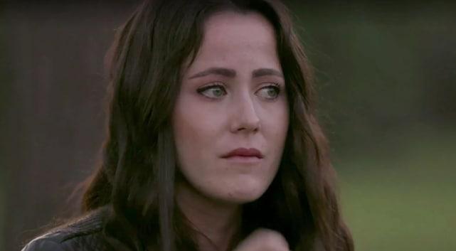 Jenelle evans is sad