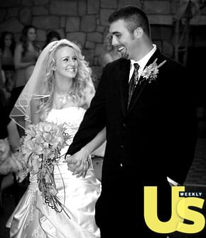Leah messer corey simms wedding pic