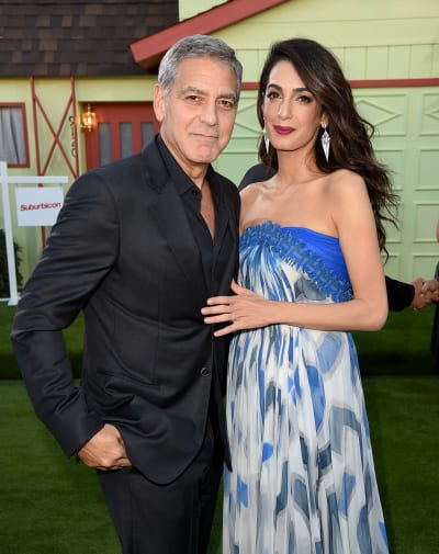George Clooney and Amal Clooney Together