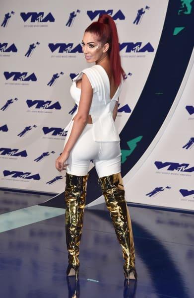 Farrah Abraham Attends 2017 VMAs