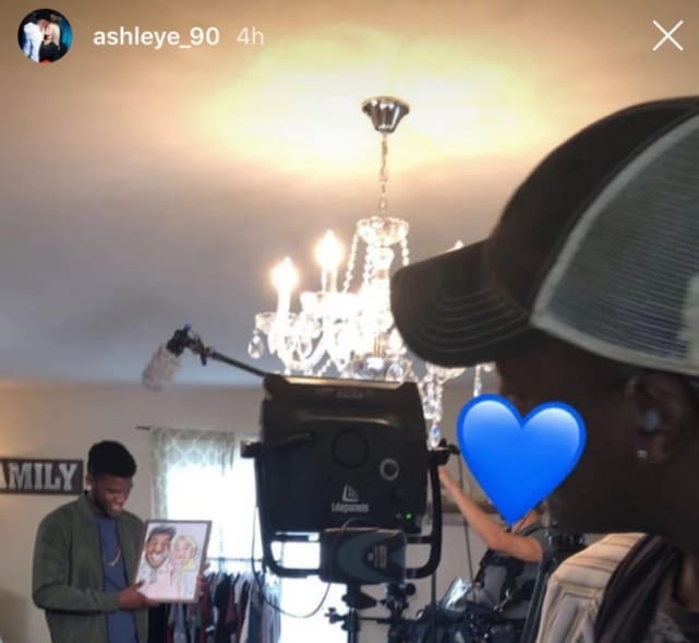 Ashley and jay tease filming on ig 01