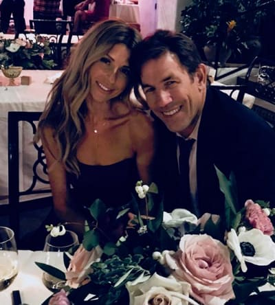Ashley Jacobs and Thomas Ravenel at Dinner