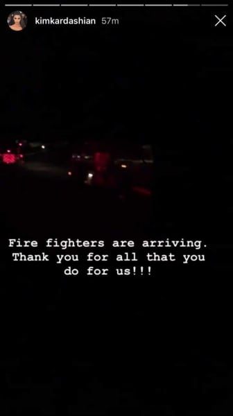 thanks, fire trucks!