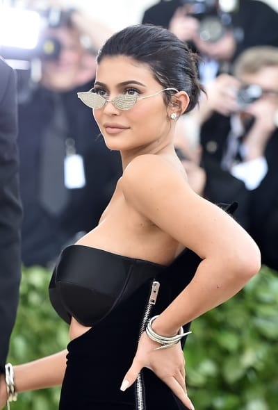 Kylie Jenner in Glasses
