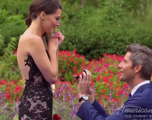 Arie Luyendyk Jr. Proposes!