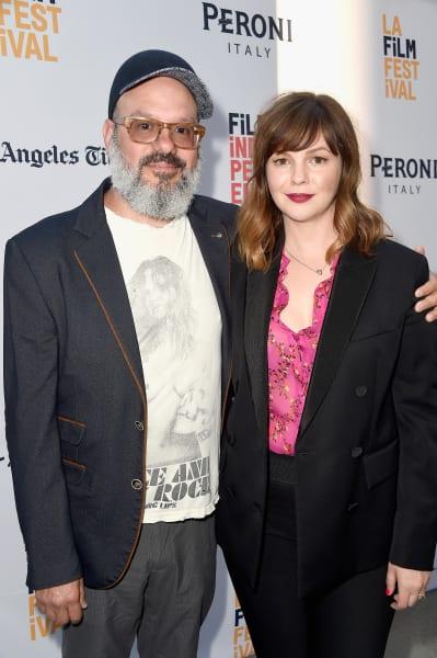 Amber Tamblyn and David Cross Pic
