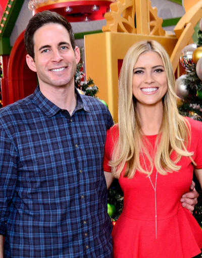 Tarek and Christina El Moussa Photo