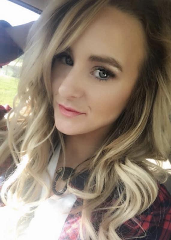Leah messer selfie