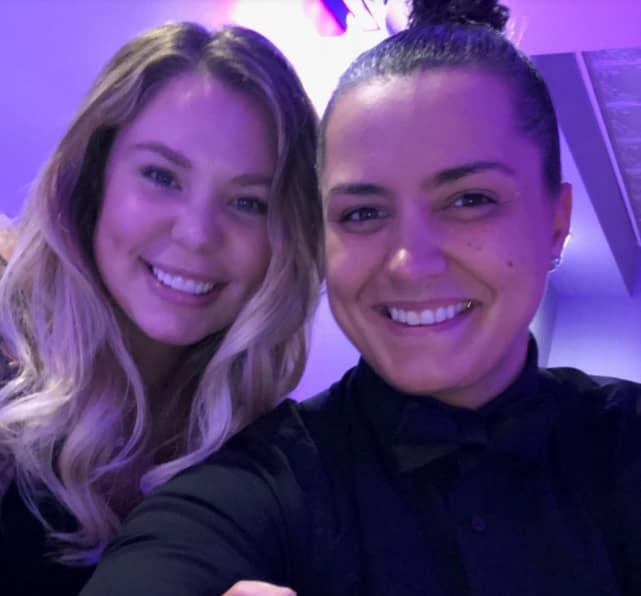 Kailyn lowry and rebecca hayter selfie